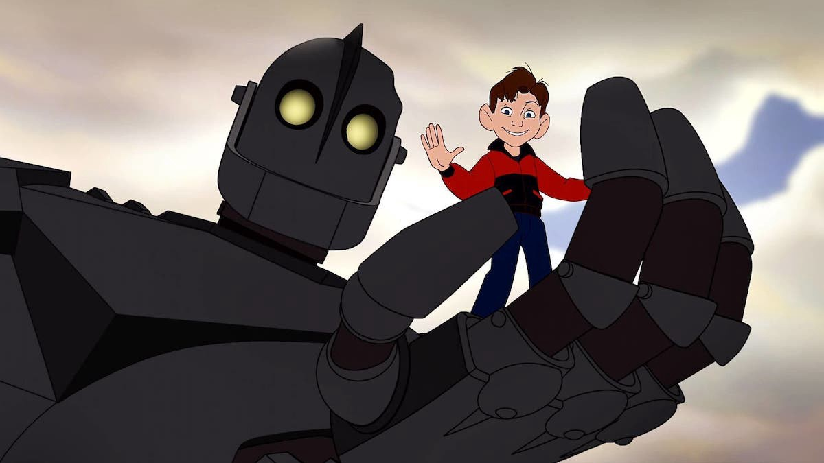 When the son of the Iron Giant director - Michael voiced for the classic's additional characters