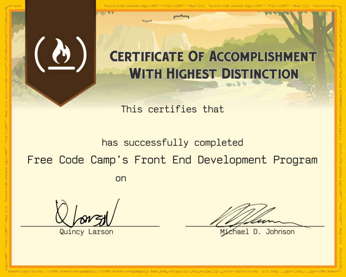 How to complete Free Code Camp's front end certification in 40 days