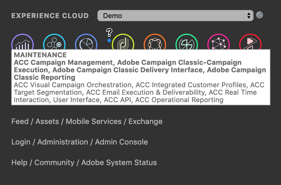 Adobe Experience Cloud Bookmarks — Status Update - Andrey