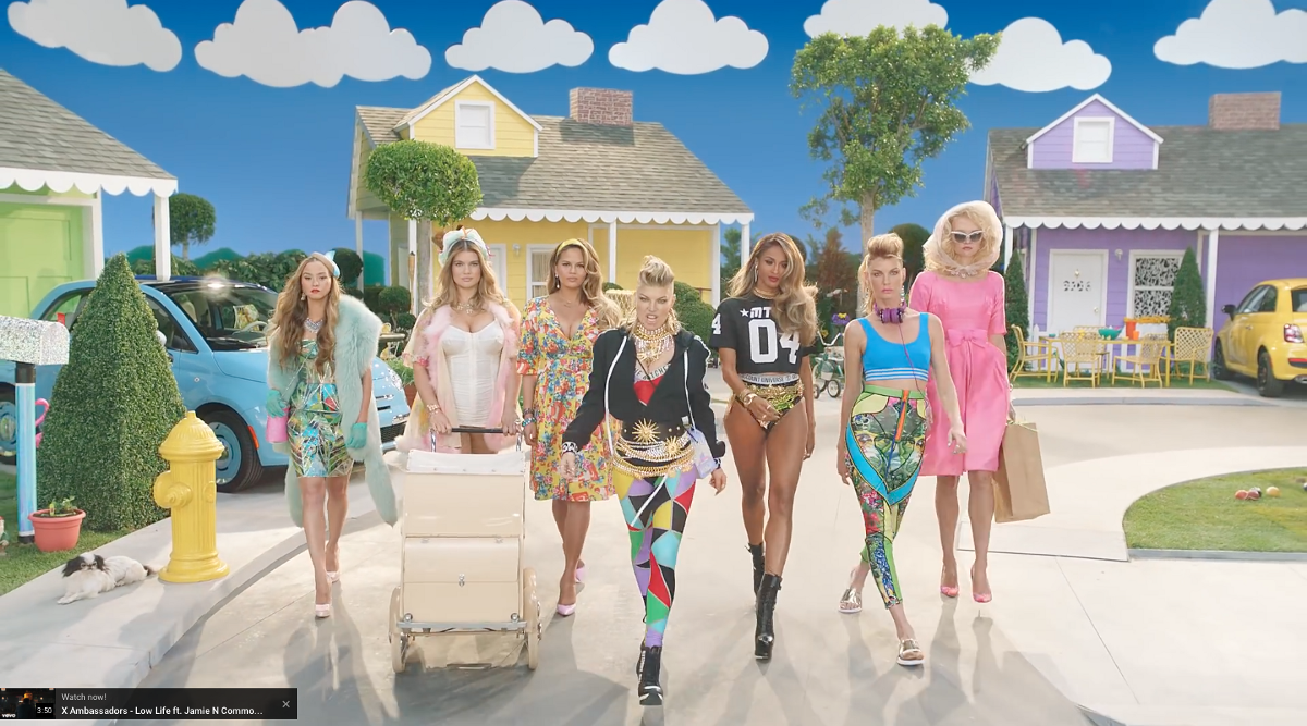 """A Note On Casting: Fergie's """"M I L F  $"""" Music Video"""