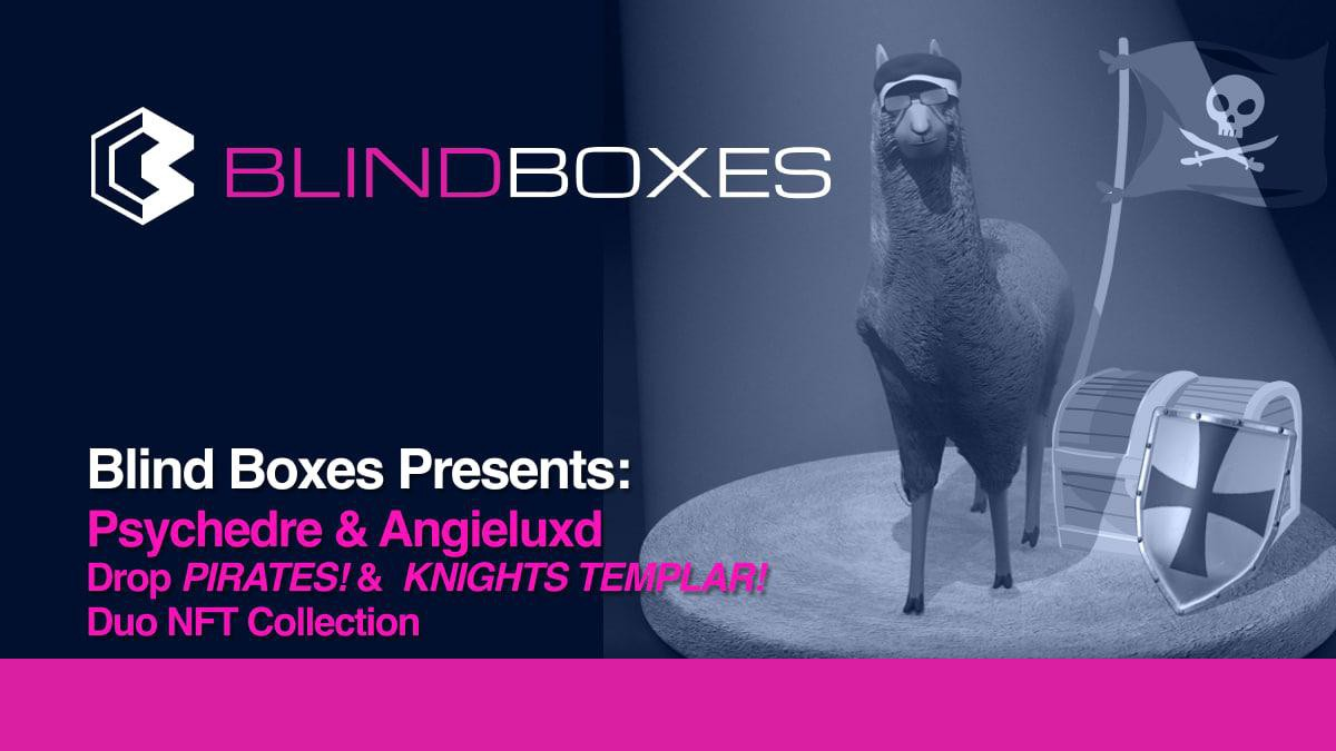 Psychdre and Angieluxd collaborate to drop multiple collections on the Blind Boxes Marketplace