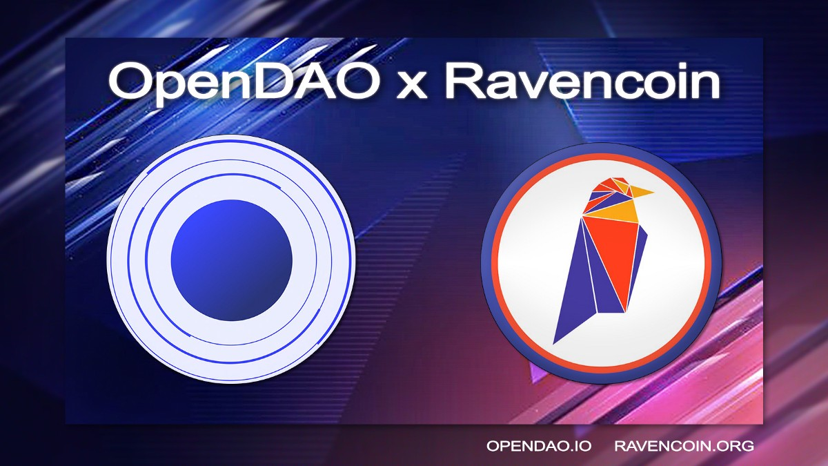 Ravencoin + OpenDAO: $RVN Backed Stable Coin