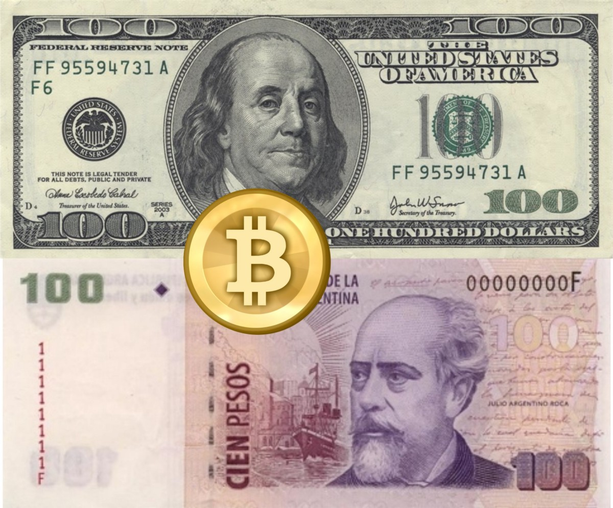 Bitcoin and the Dólar Blue in Argentina - James Downer - Medium