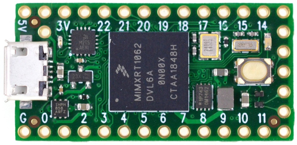 Teensy 4 0 Brings 600 MHz Cortex-M7 to the Arduino World