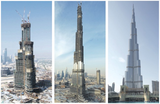 Burj khalifa should be the 8th wonder in the world - David Brown