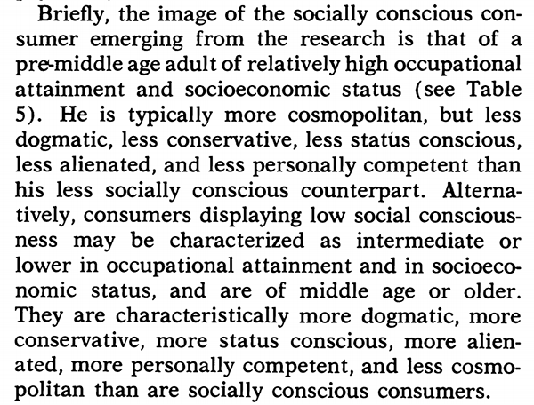 what is conscious consumerism who is a conscious consumer credit anderson and cunningham