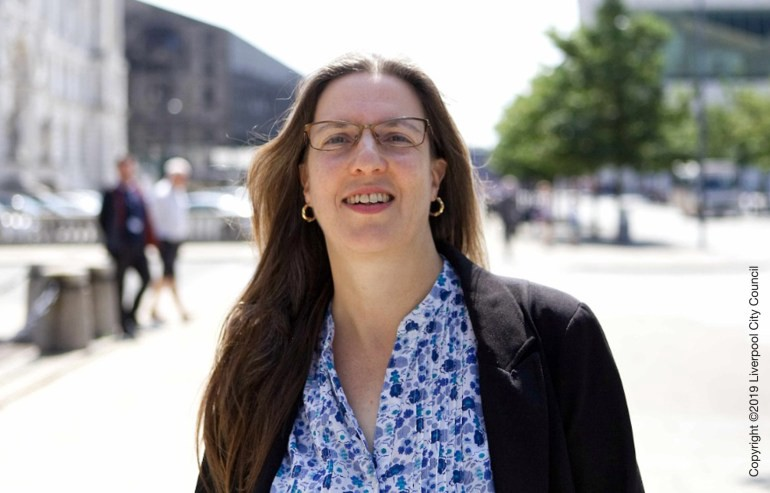 """Liverpool's Climate Change Challenge: """" I'm looking forward to working with many colleagues to…"""