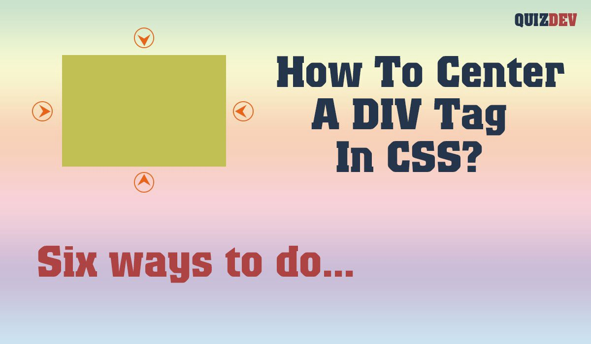 How to center a div tag in CSS — horizontal & vertical align   by ...