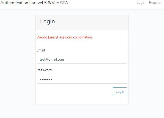 How to Authenticate using jwt-auth in Laravel 5 6/Vue SPA