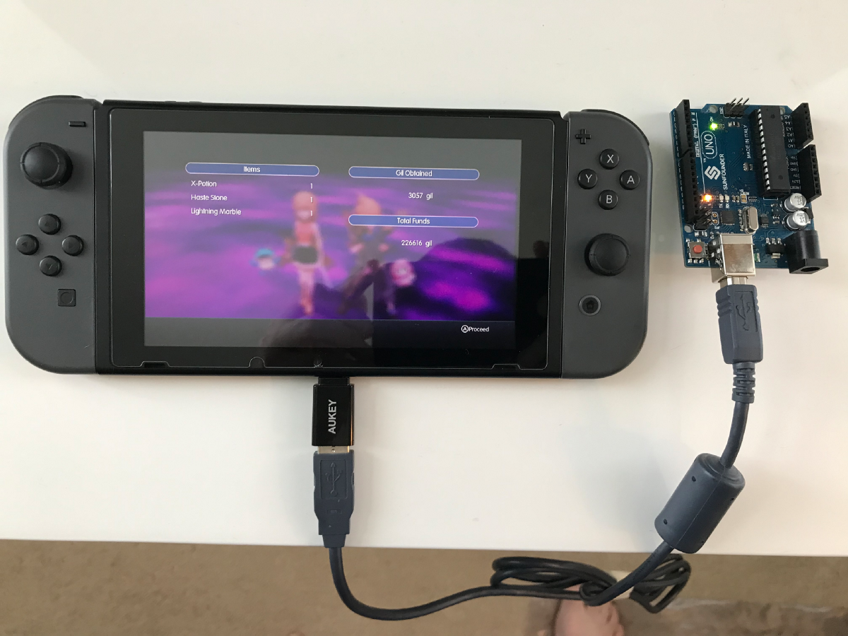 Creating a Fake Nintendo Switch Controller to Level Up My