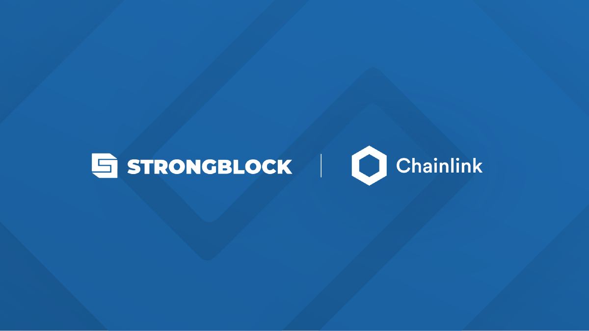 StrongBlock Integrates Chainlink Oracles Live on Mainnet to Help Power its DeFi Mining Rewards…