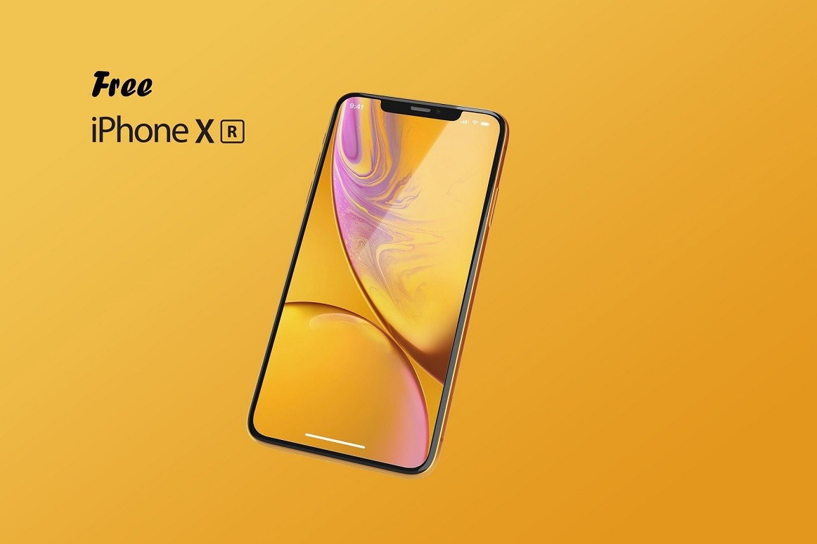Free iPhone XR Mockups for 2019 [PSD, Sketch]