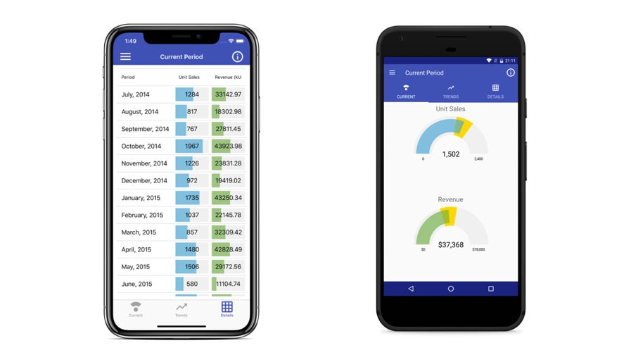 Data Grid In Xamarin Forms