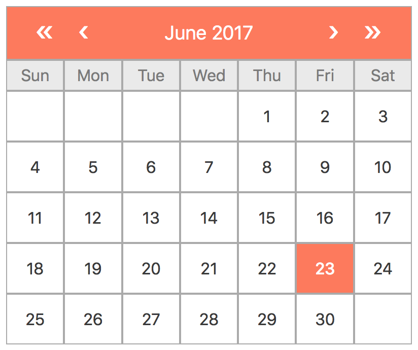 Building an extendable calendar in Vue js -Part 1: State Model