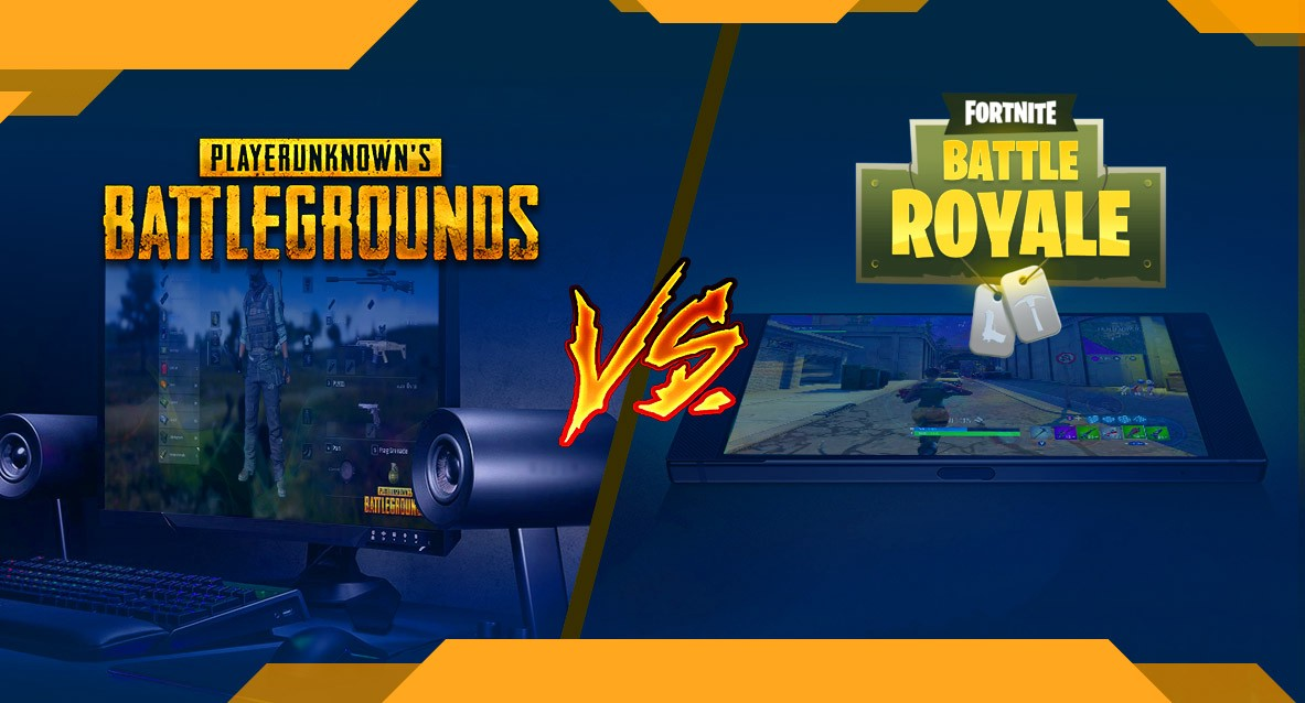 A Phenomenon Of Battle Royale Pubg Vs Fortnite Pc Vs Mobile