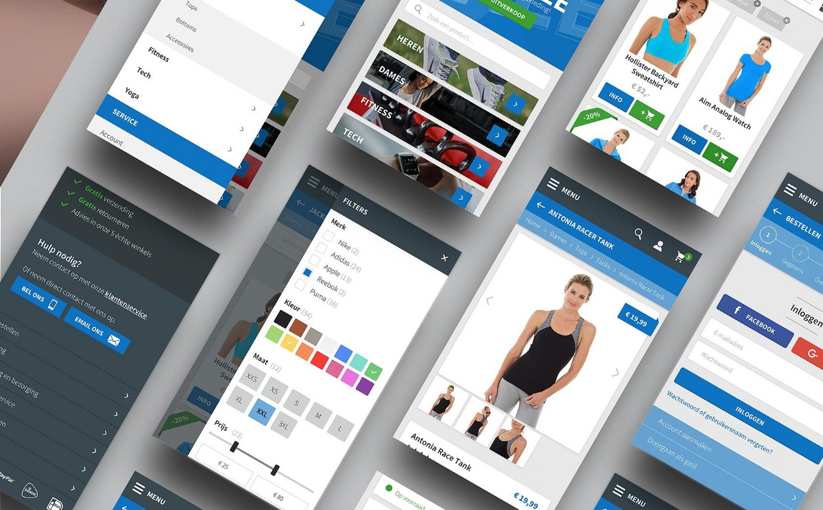 Mobile e commerce best practices for ux with infographic for E commerce mobili