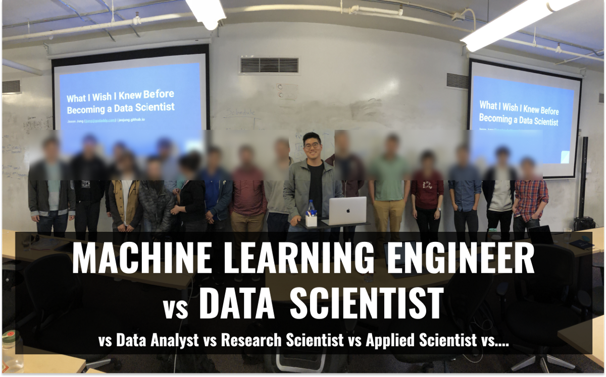 Machine Learning Engineer vs Data Scientist  (Is Data Science Over?)