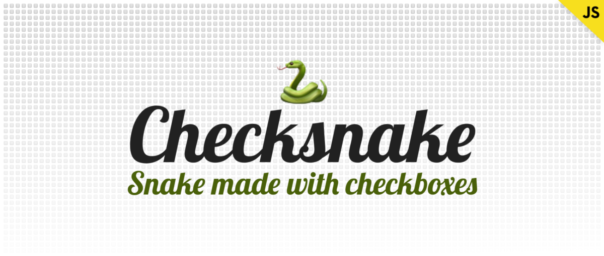 How I Made a Snake Game Out of Checkboxes