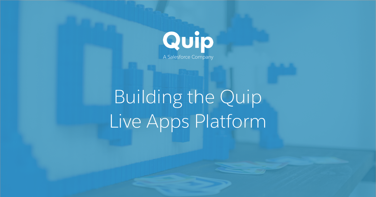 Embedding third-party React apps in Quip for fun and profit