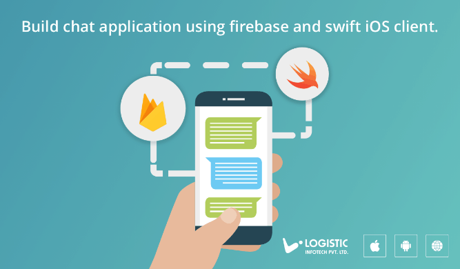Real-time chat application with firebase and iOS swift client