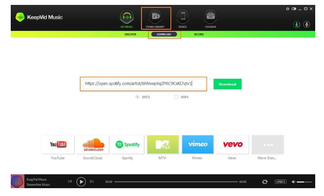 Free Download Spotify downloader music app for android, ios