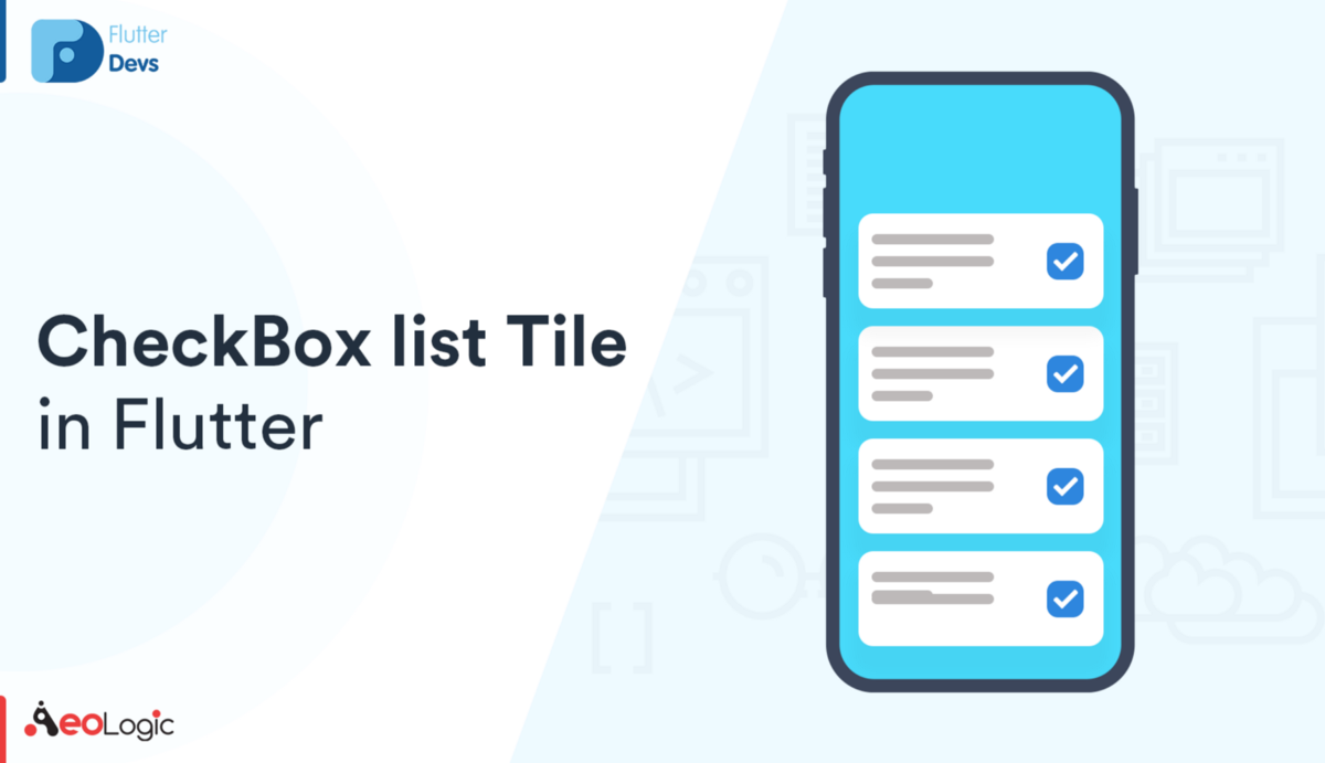 CheckBox ListTile In Flutter