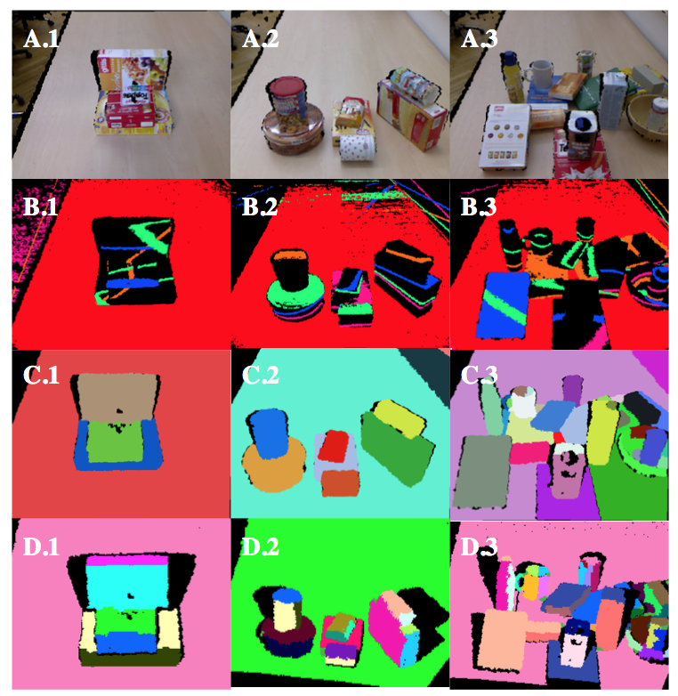 Efficient Surface Detection for Augmented Reality on 3D