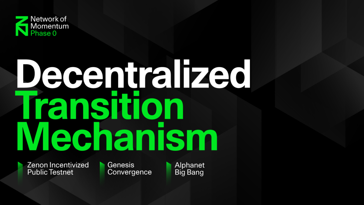 The next chapter: Network of Momentum Phase 0 Decentralized Transition Mechanism