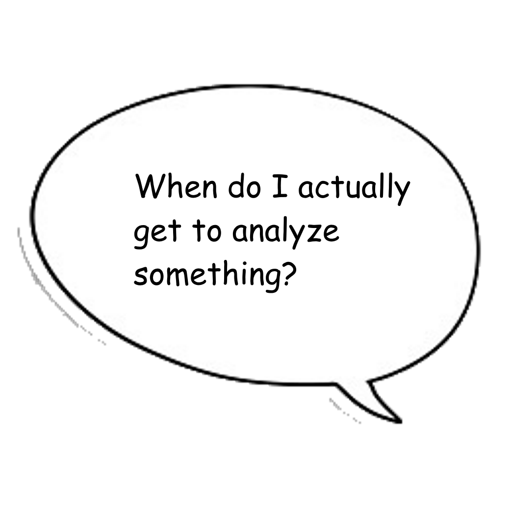 10 Things You Will Need To Overcome Before You Analyze Anything
