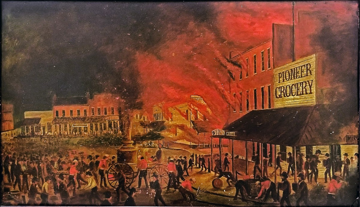 Great Monmouth Fire' preceded famous Chicago blaze by months