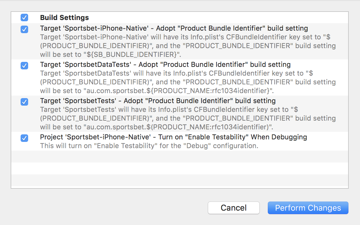A Pragmatic Build System for iOS Apps - Sportsbet Technology