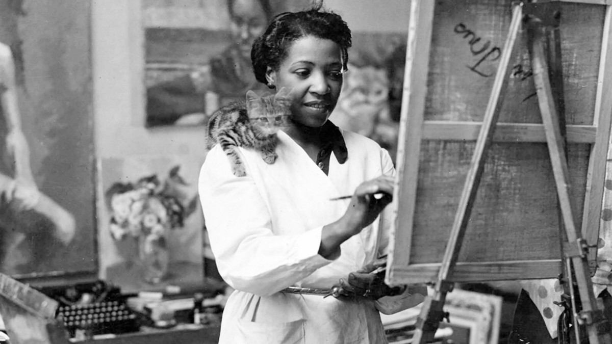 Loïs Mailou Jones paved a path for black artists who had been shut out of the world of fine art
