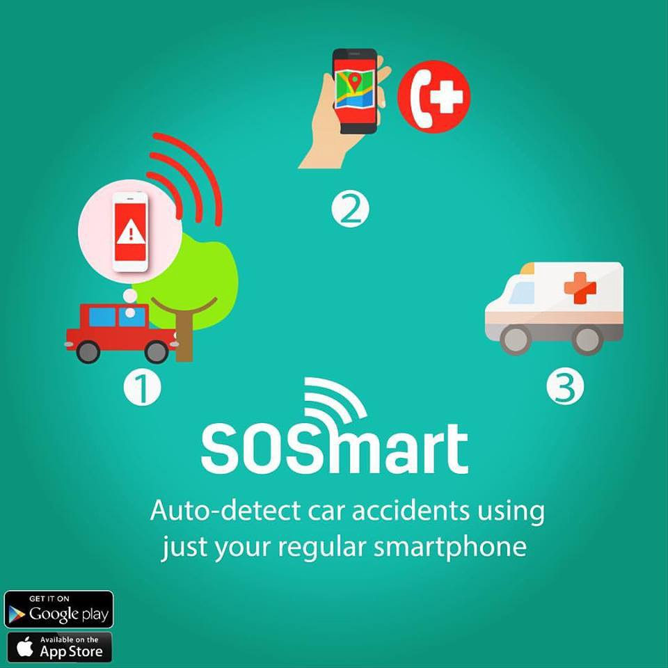 SOSmart: Automatic auto accident detection using your