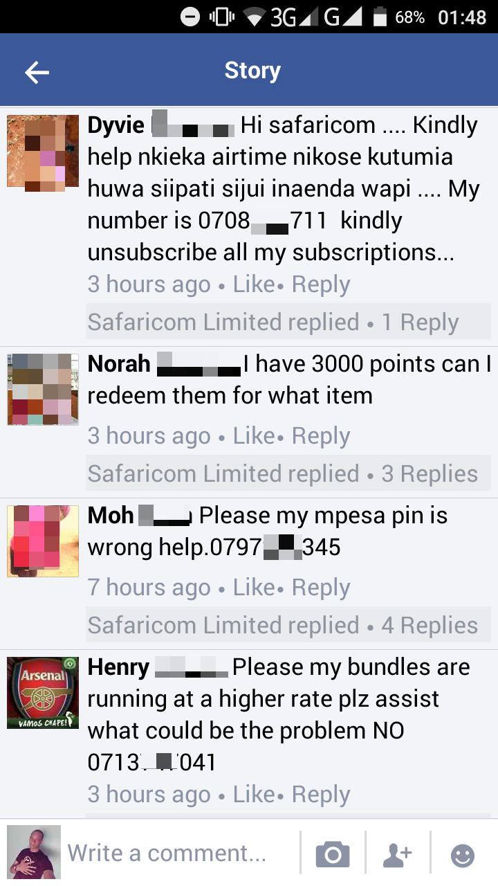 I might have your number from Facebook - gibbs nguyo - Medium