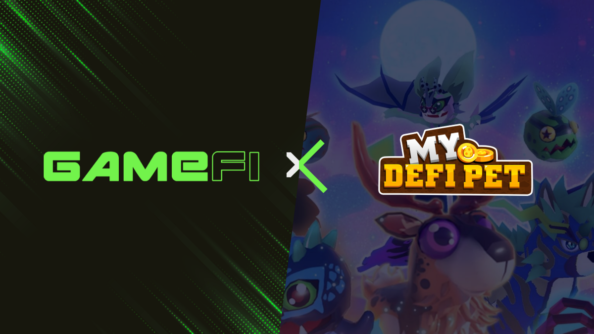 GameFi Partners with My Defi Pet—Lifestyle-based Pet Game