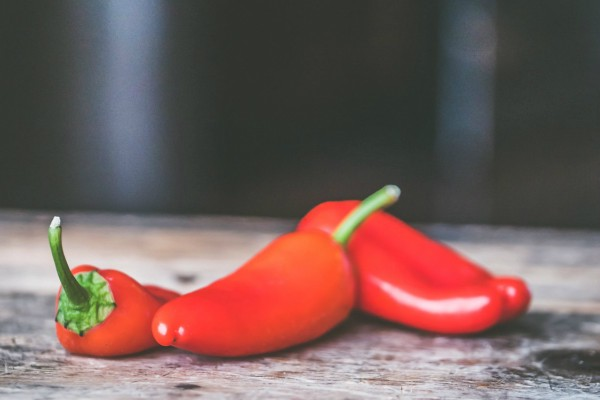 Apparent reduction in relative health risks chili peppers