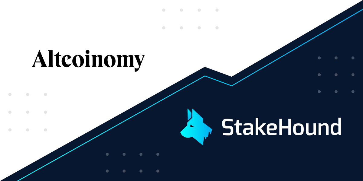 StakeHound's second out of three infrastructural pillars: Altcoinomy—trusted KYC and AML provider