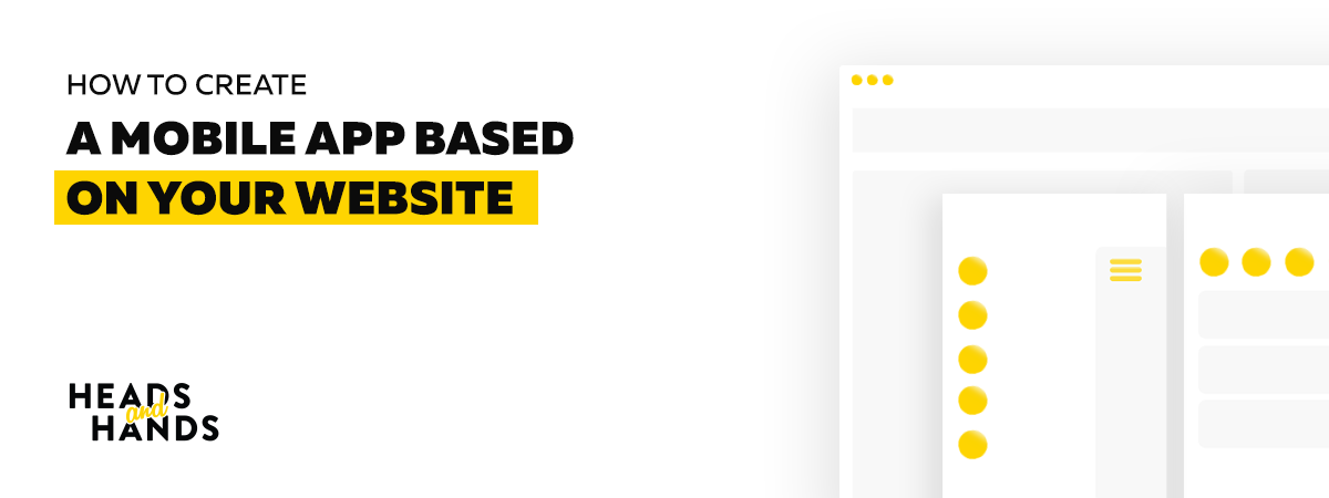 How to create a mobile app based on your website - Muzli - Design