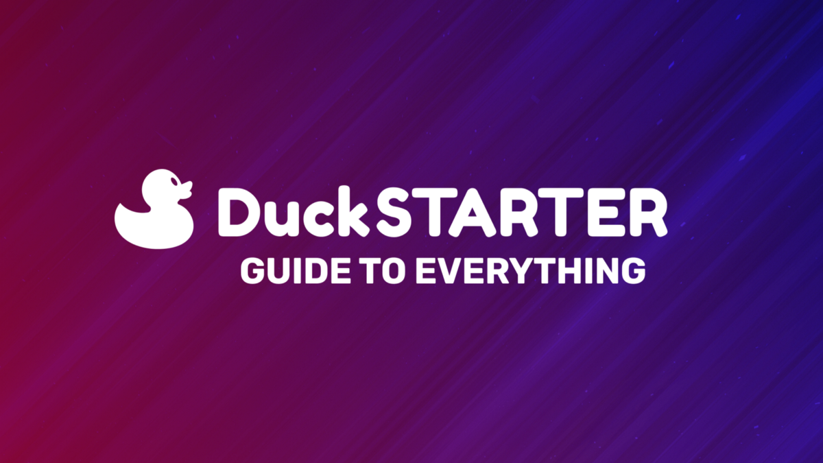 Everything you need to know about DuckSTARTER