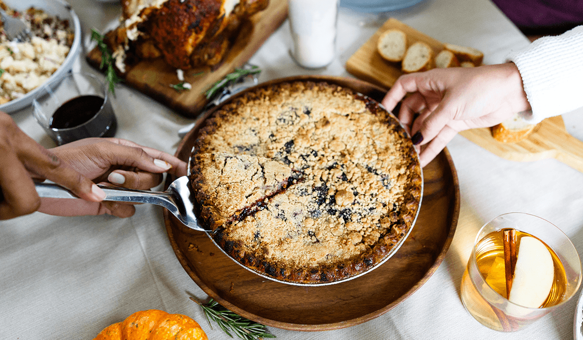 Favor Teams Up With H-E-B for Exclusive Blueberry Pie