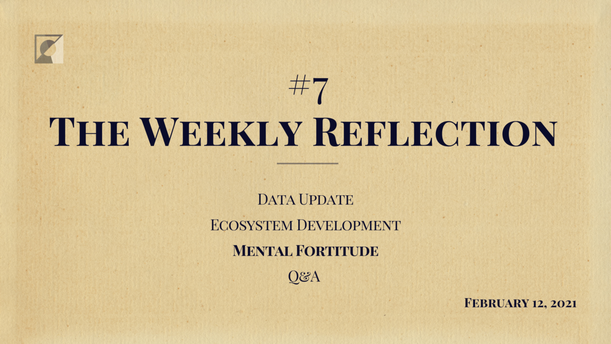 The Weekly Reflection #7