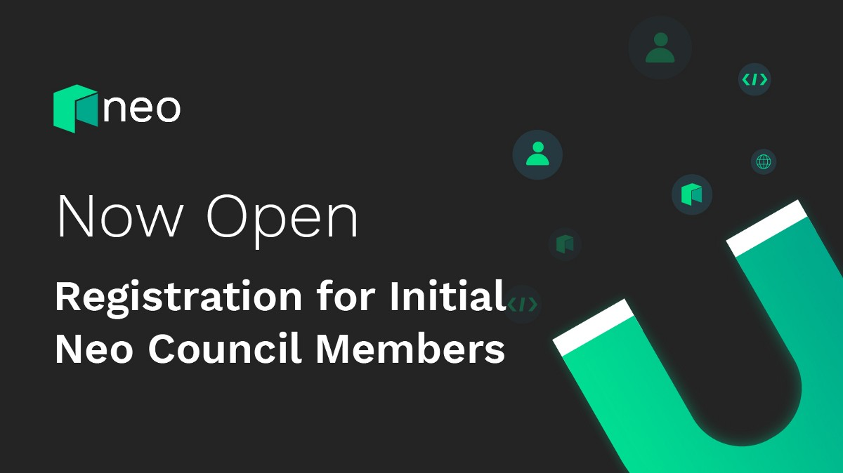 Now Open: Registration for Initial Neo Council Members