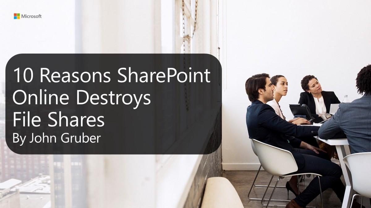 10 Reasons SharePoint Online Destroys File Shares