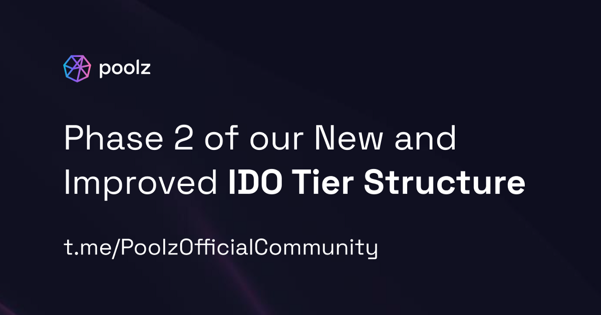 Introducing Phase 2 of the New and Improved IDO Tier Structure