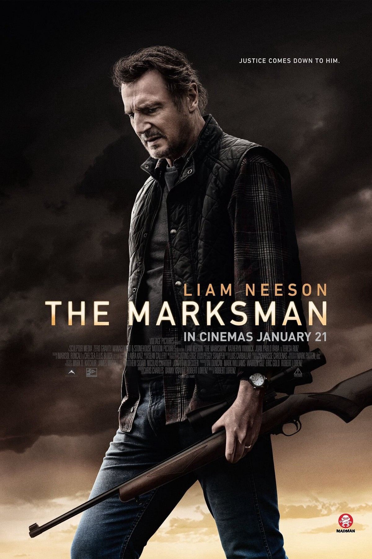 (The Marksman (2021) Watch F.u.l.l — Movie Free [HD-720p)