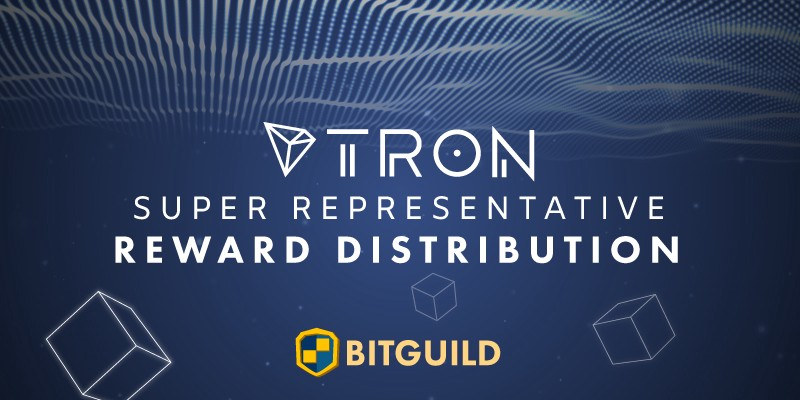 Detailed TRON SR Rewards Distribution Plan from BitGuild
