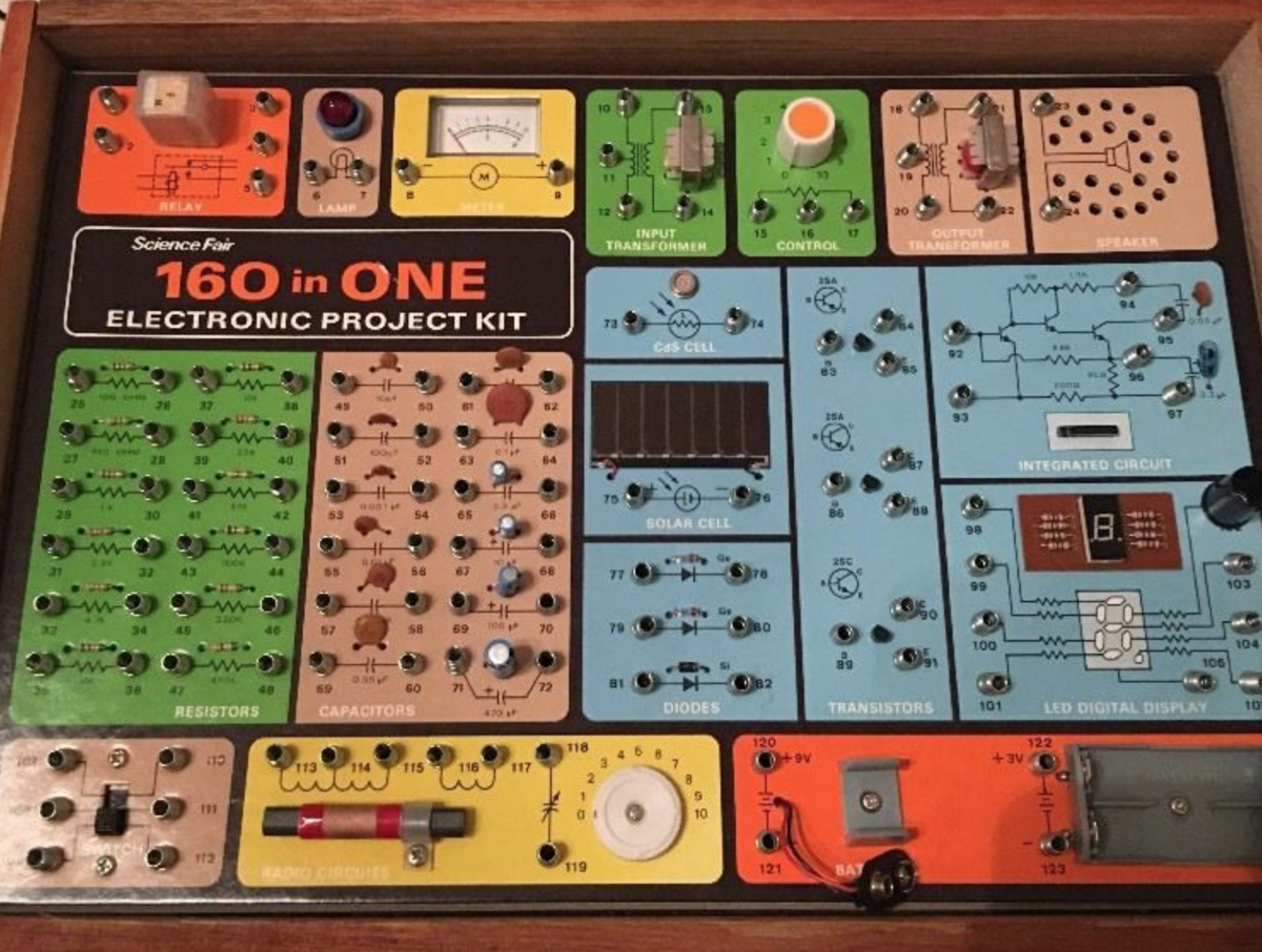 Electronic project kits: hands on with a vintage 160-in-1  by R. X. Seger  Medium