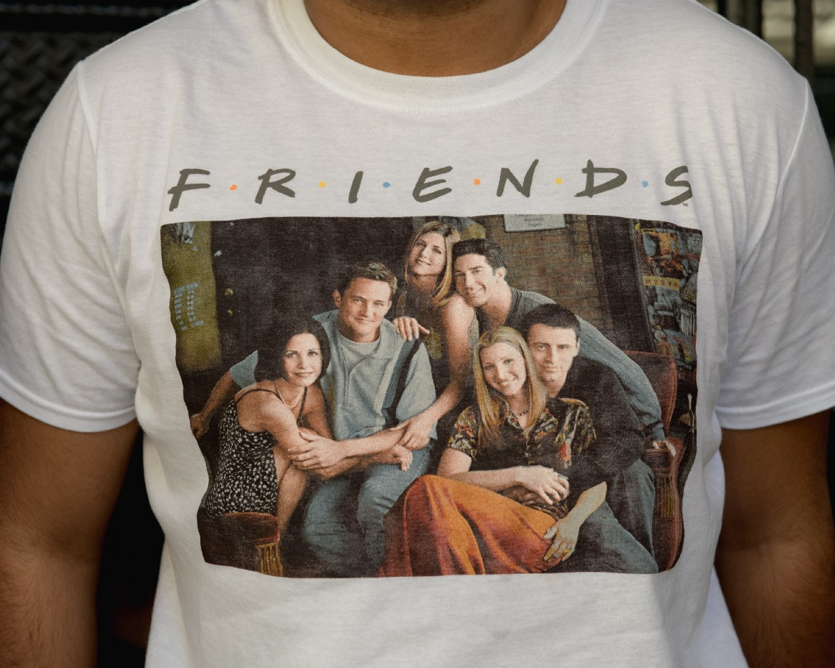 My Dark Afternoon of of the Soul at the 'Friends' Pop Up