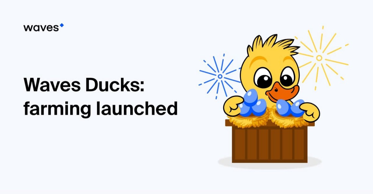 The Waves Ducks universe welcomes NFT farming