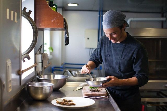 Meet the Chef Who Feeds the Crew on Greenpeace Ships